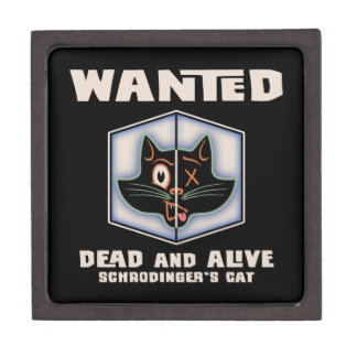 Schrodinger's Cat Wanted Gift Box