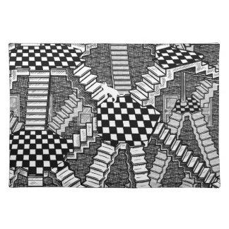 schrodinger's cat's dreams cloth placemat