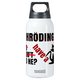 Schrodinger's Dillema Insulated Water Bottle