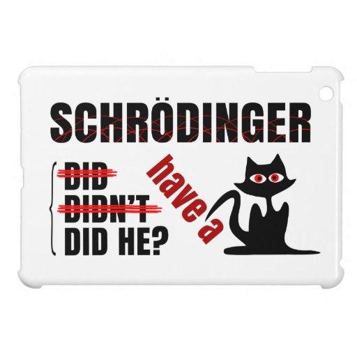 Schrodinger's Dillema iPad Mini Cases