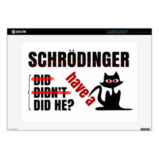 Schrodinger's Dillema Laptop Decals