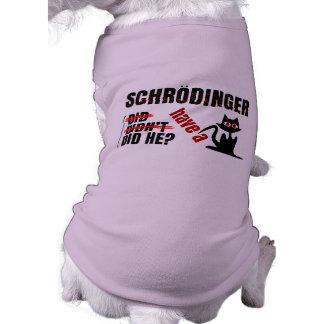 Schrodinger's Dillema Pet Clothing