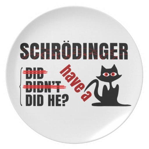 Schrodinger's Dillema Plates
