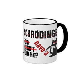 Schrodinger's Dillema Ringer Mug