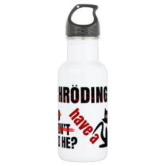 Schrodinger's Dillema Water Bottle