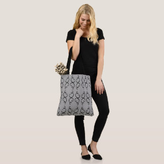 Schroll Pattern (change the background color) Tote Bag