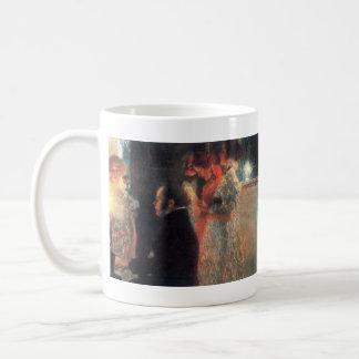 Schubert at the piano by Gustav Klimt Coffee Mug