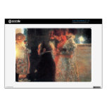 Schubert at the piano by Gustav Klimt Acer Chromebook Decals