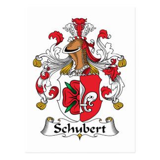 Schubert Family Crest Postcard