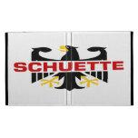 Schuette Surname iPad Folio Cases