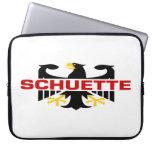 Schuette Surname Laptop Sleeve