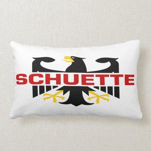 Schuette Surname Throw Pillow