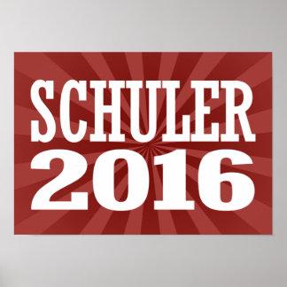 Schuler - brezo Schuler 2016 Póster