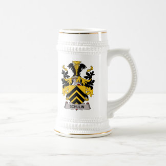 Schulin Family Crest Mugs