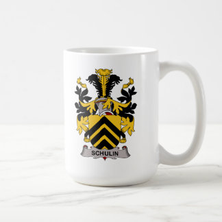 Schulin Family Crest Coffee Mugs
