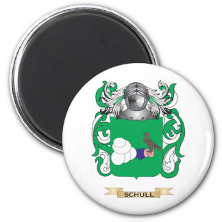 Schull Coat of Arms (Family Crest) 2 Inch Round Magnet