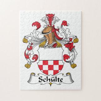 Schulte Family Crest Puzzle