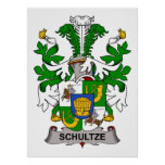 Schultze Family Crest Poster