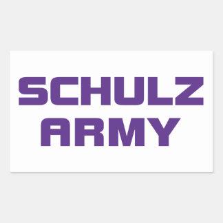 Schulz Army Sticker