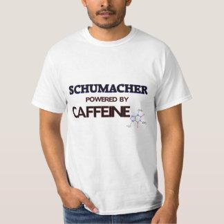 Schumacher accionó por el cafeína poleras