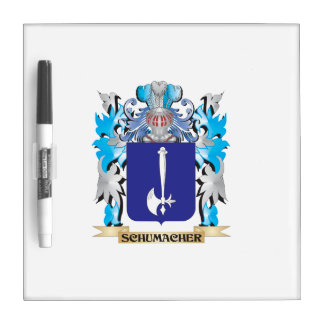 Schumacher Coat of Arms - Family Crest Dry Erase Boards