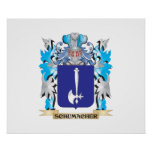 Schumacher Coat of Arms - Family Crest Poster