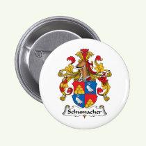 Schumacher Family Crest Button