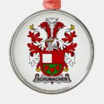 Schumacher Family Crest Christmas Ornament