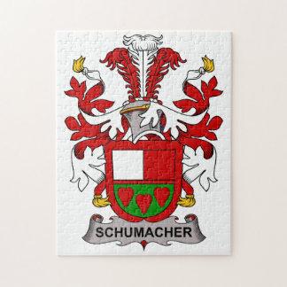 Schumacher Family Crest Jigsaw Puzzle