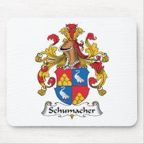 Schumacher Family Crest Mousepad
