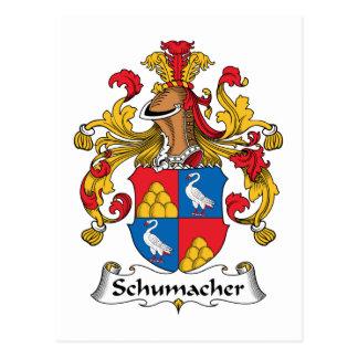 Schumacher Family Crest Postcard