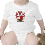 Schumacher Family Crest Rompers