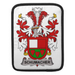 Schumacher Family Crest Sleeves For iPads