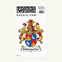 Schumacher Family Crest Stamps
