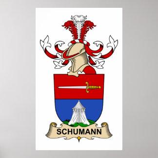 Schumann Family Crest Poster