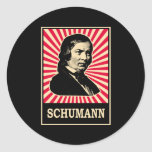 Schumann Pegatina Redonda