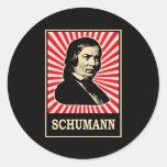 Schumann Round Stickers