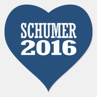 Schumer - tirada Schumer 2016 Pegatina En Forma De Corazón