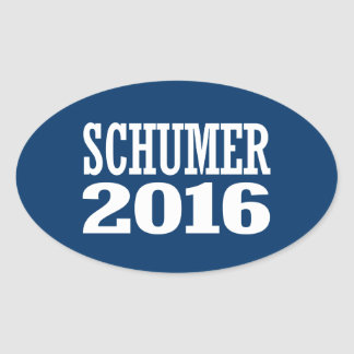 Schumer - tirada Schumer 2016 Pegatina Ovalada