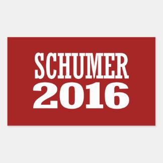 Schumer - tirada Schumer 2016 Pegatina Rectangular
