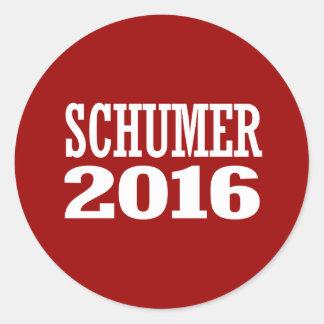 Schumer - tirada Schumer 2016 Pegatina Redonda