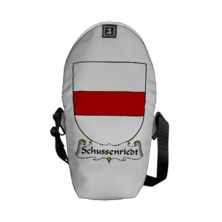 Schussenriedt Family Crest Messenger Bags