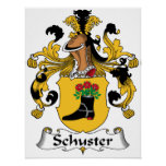Schuster Family Crest Print