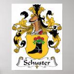 Schuster Family Crest Print