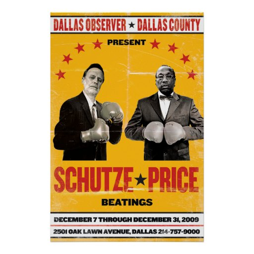 Schutze v. Price Poster