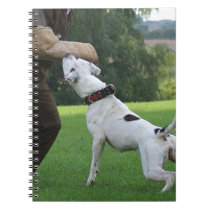 Schutzhund American Bulldog Notebook