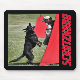 Schutzhund German Shepherd Dog Mousepad