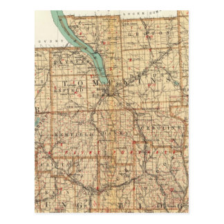Schuyler, Tompkins, Cortland, Chemung Tarjetas Postales