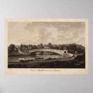 Schuylkill river poster