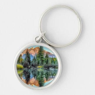 Schwabacher's Landing and Beaver Pond Keychain